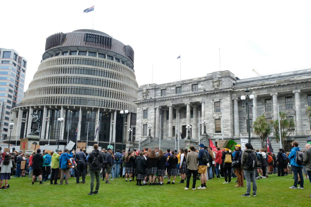 Students call for climate action Archdiocese of Wellington