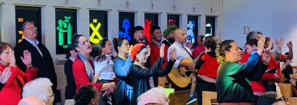 Hui Aranga celebrates 75 years Archdiocese of Wellington