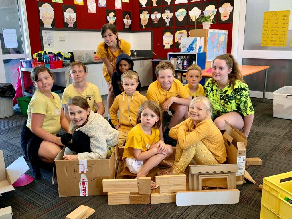 Caritas House Day at St Canice School Archdiocese of Wellington