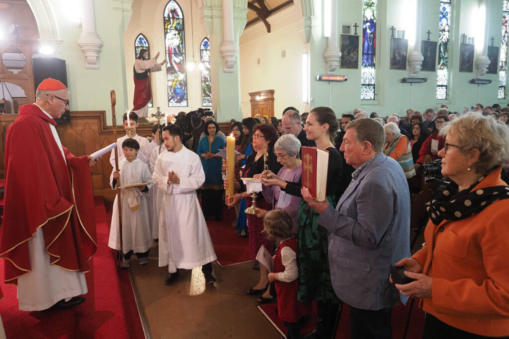 'Let's begin anew' Archdiocese of Wellington