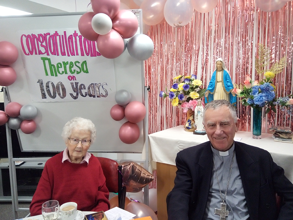 Theresa Dwyer: 100 years Archdiocese of Wellington