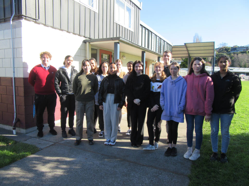 Young Vinnies at Cullinane College Archdiocese of Wellington