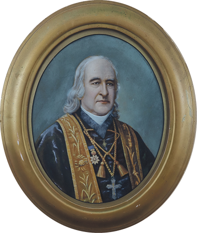 Rare portrait of Bishop Pompallier for auction Archdiocese of Wellington