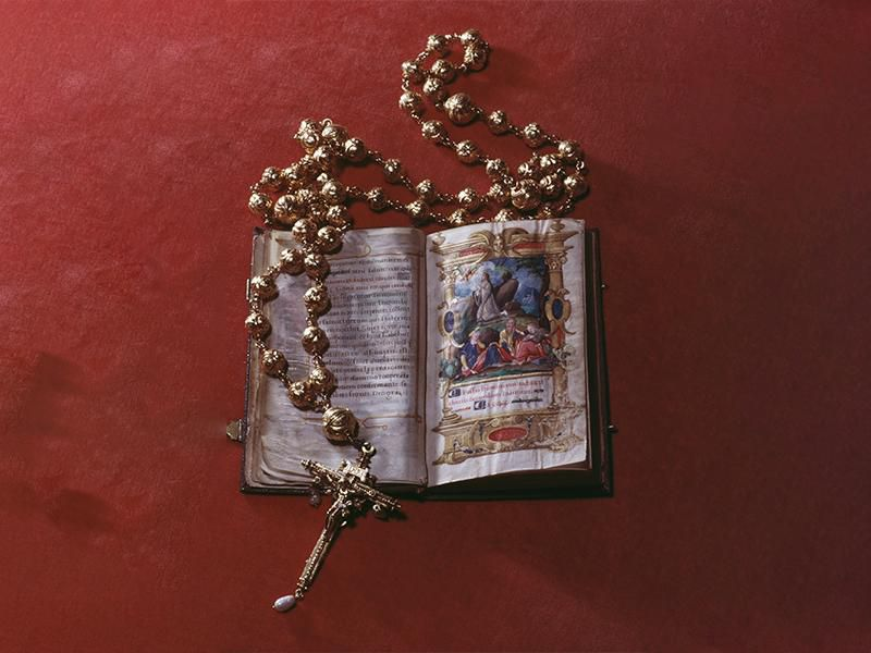 Mary Queen of Scots rosary beads stolen Archdiocese of Wellington