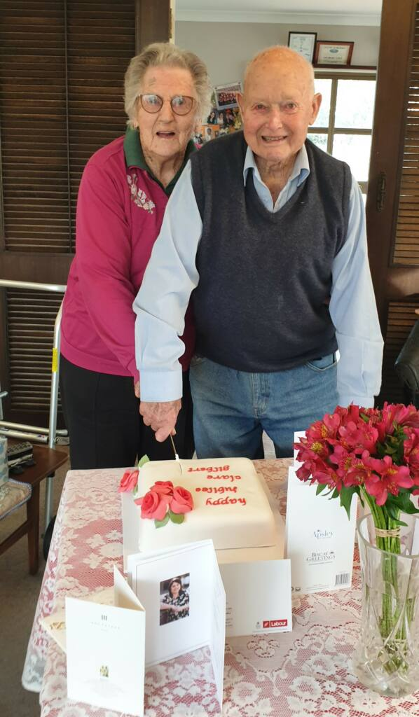 Clare and Gilbert Cole, 65 years married Archdiocese of Wellington