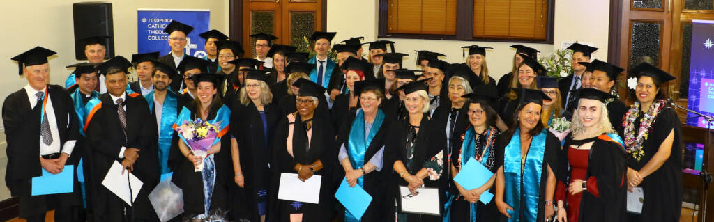 Inaugural graduation for Te Kupenga Catholic Theological College Archdiocese of Wellington