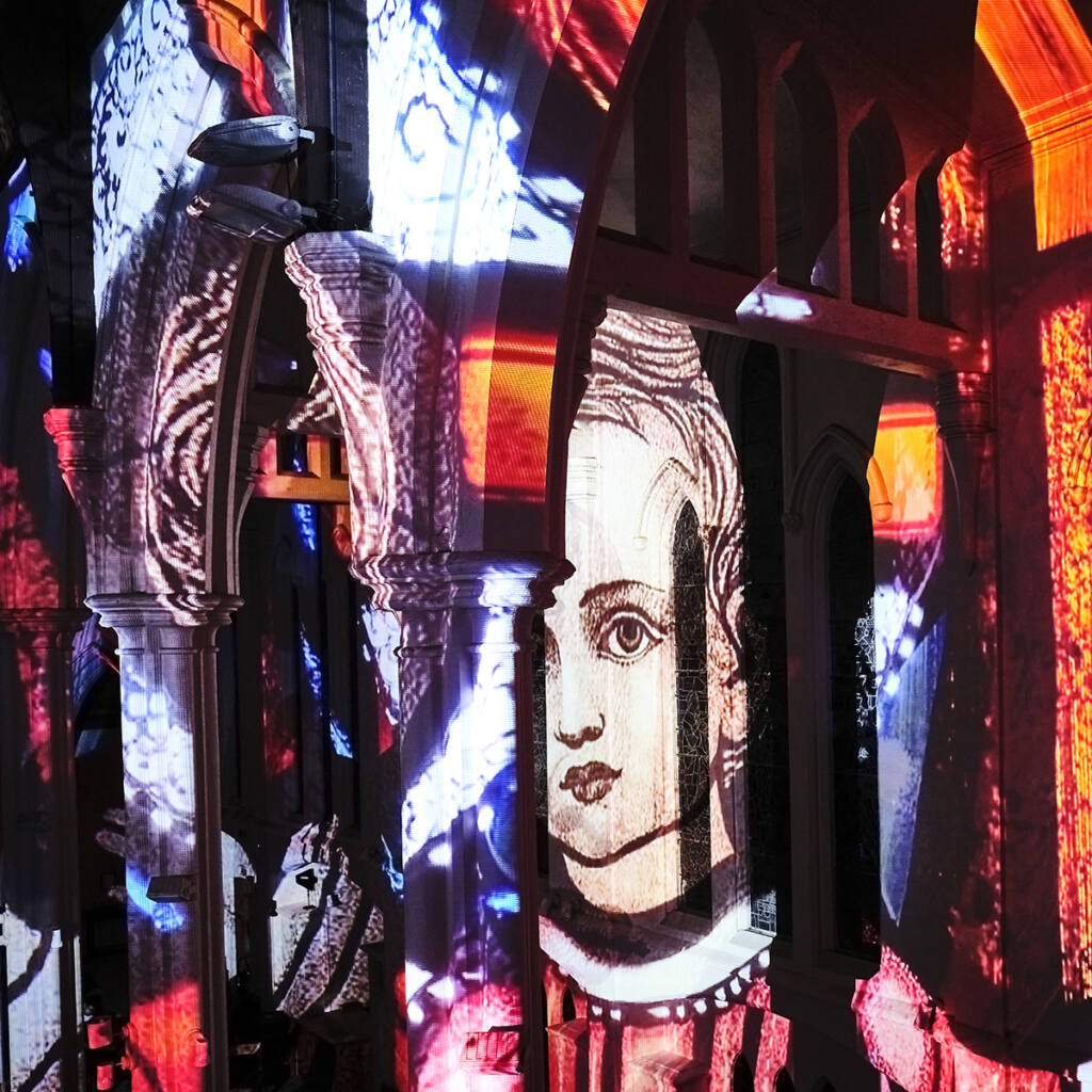 Cathedral showcased in light and sound Archdiocese of Wellington