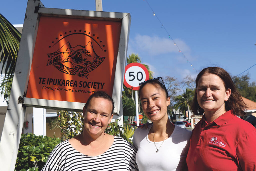 Caritas visit to Cook Islands gains insights on environmental initiatives and impacts Archdiocese of Wellington